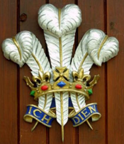 イギリス王室:プリンス・オブ・ウェールズ(ウェールズ公)紋章